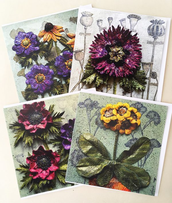 Greetings Cards - Set of 4
