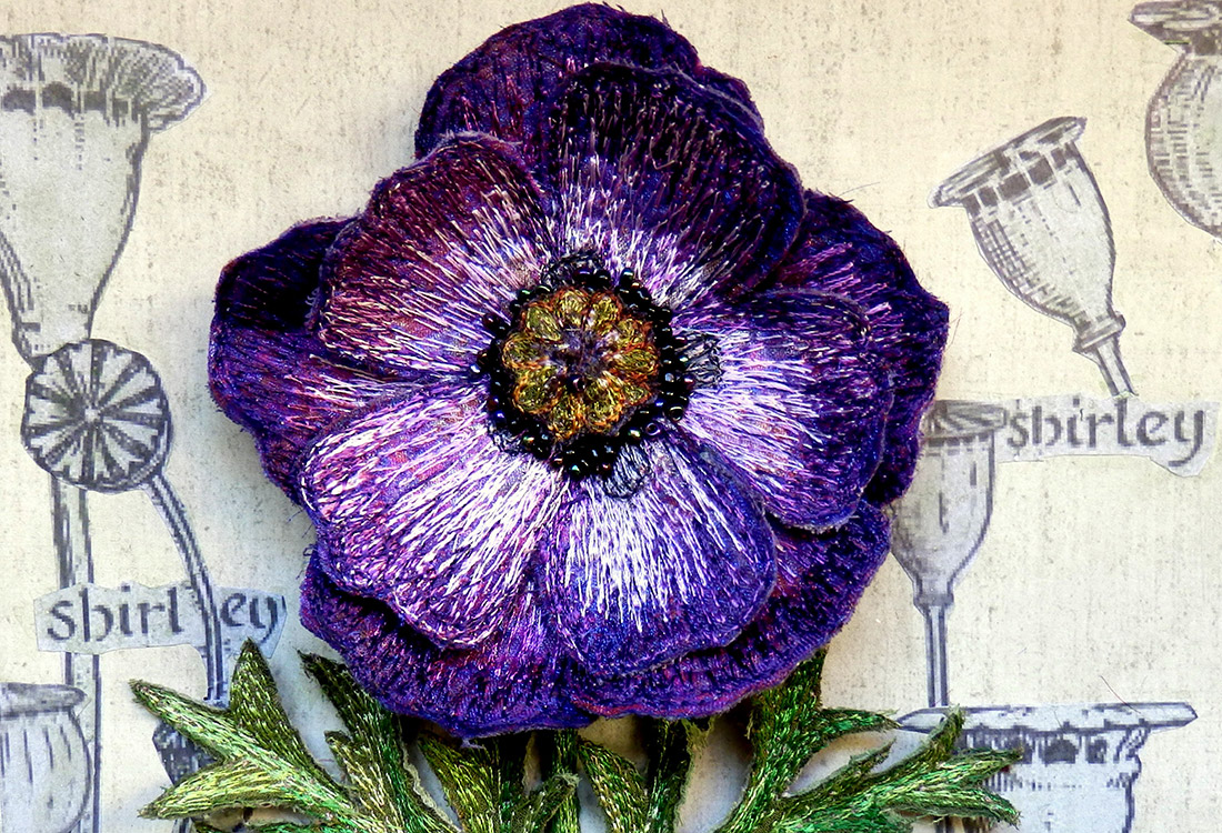Corinne Young - Purple Poppy
