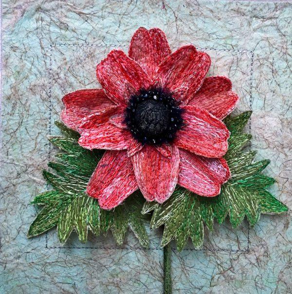 Anemone 'Coronaria' (Detail)