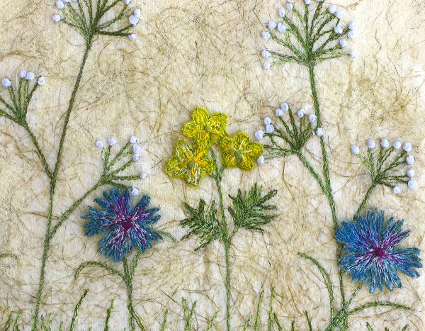 Cornflower Meadow - Large (Detail)