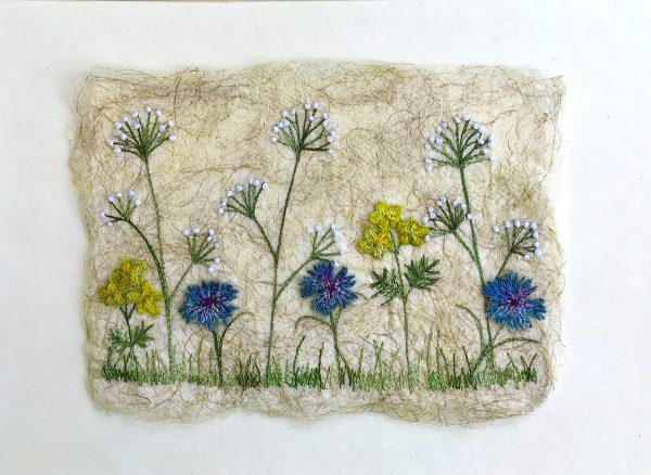 Cornflower Meadow - Large (Full View)