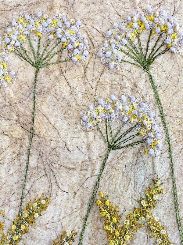 Lace Meadow - Large (Detail)