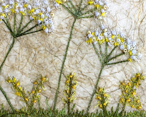 Lace Meadow - Small (Detail)