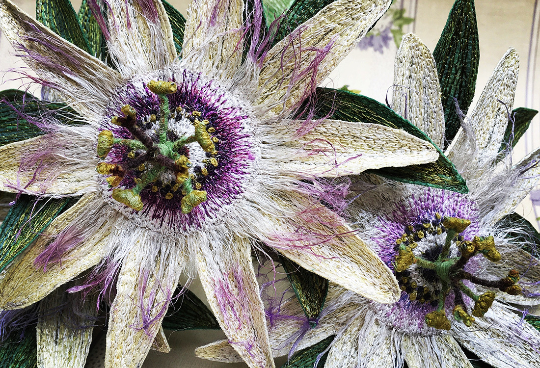 Corinne Young - Passion Flower Stems