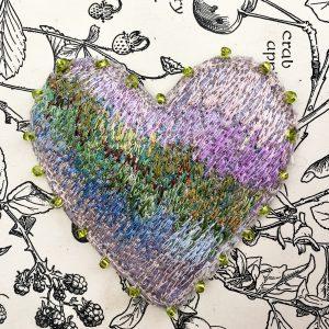 Garden Heart Brooch (Detail)