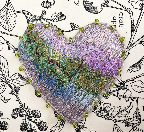 Garden Heart Brooch (Detail)