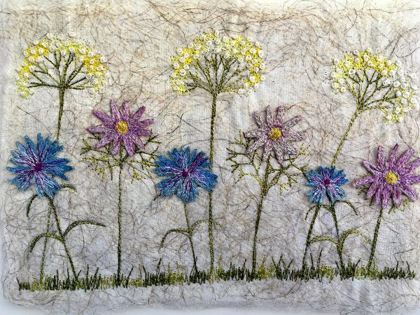 Daisy Meadow Large II (Detail)