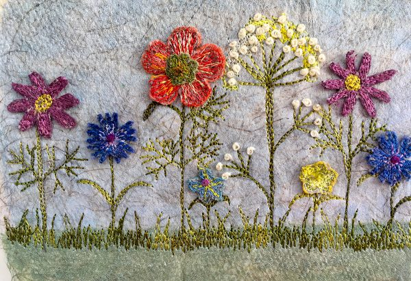 Summer Meadow Small II (Detail)