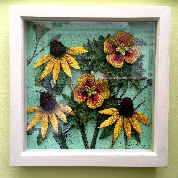 Late Summer Flowers (Frame)