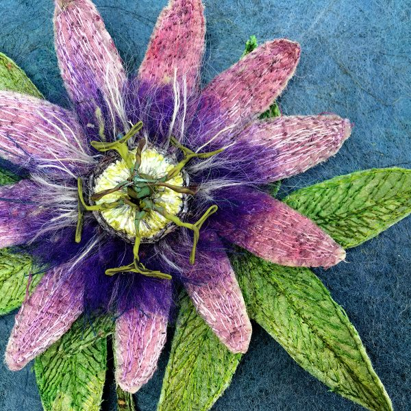 Passion Flower (Detail)
