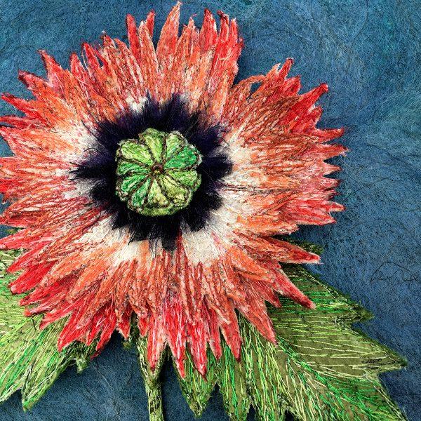 Red Poppy (Detail)