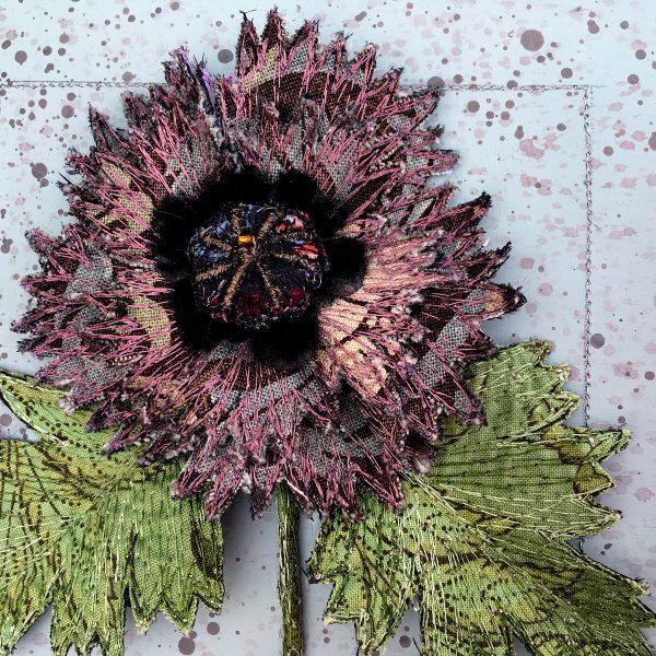 William Morris Poppy II (Detail)