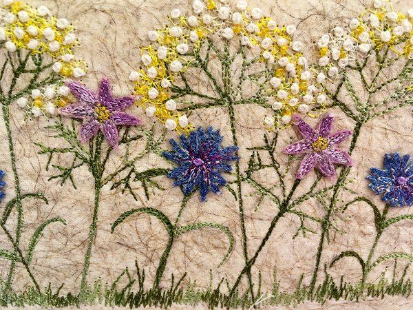 Daisy Meadow II (Small) (Detail)