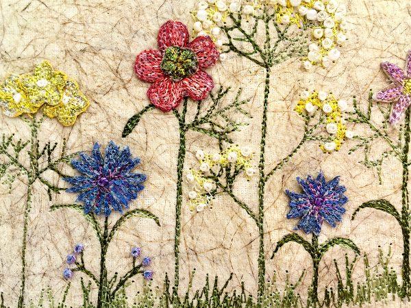 Poppy Meadow II (Small) (Detail)